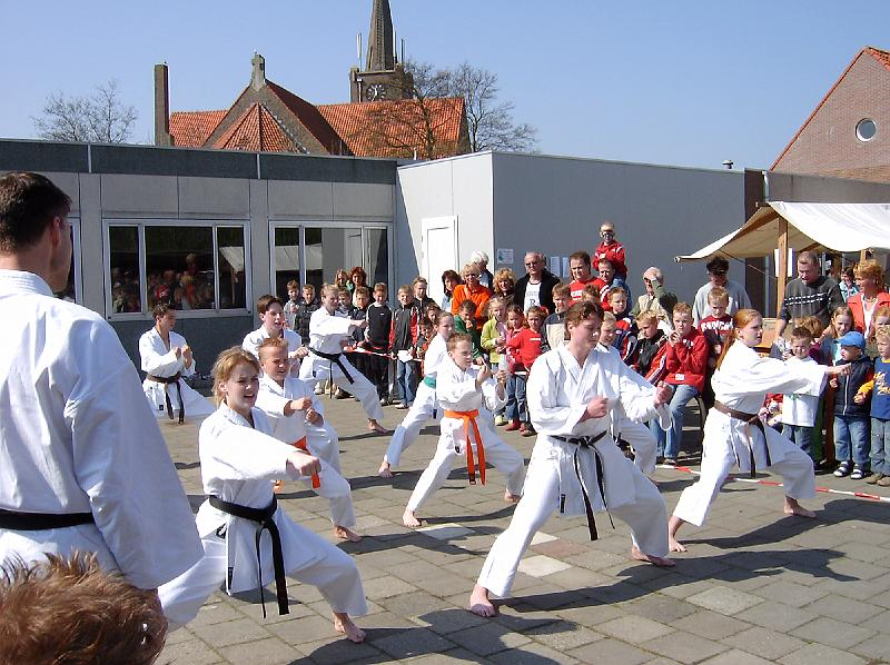 Demonstratie Sportverkiezing Breezand