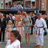 Koningsdag 2014 demonstratie Amstelveen