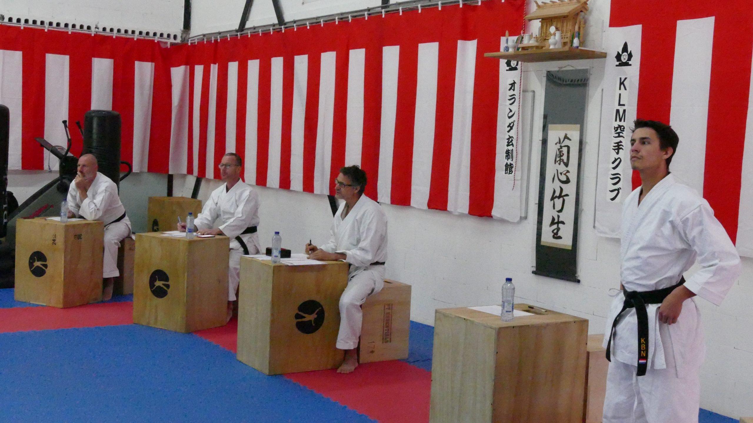 Kyu examen Anna Paulowna Bonsai / wit September 2020